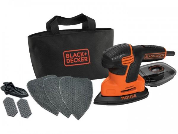 Black & Decker Nouvelle Mouse 120W livrée en sac de transport avec 6 accessoires