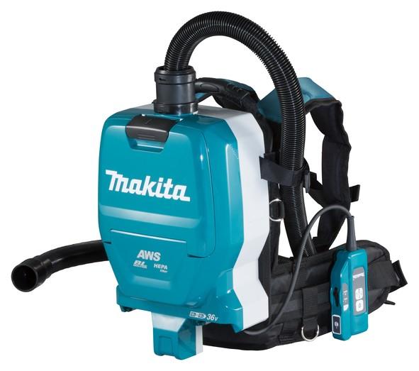 Makita Aspiratore a zaino 2x18 V (senza batterie e caricabatterie) - DVC265ZXU