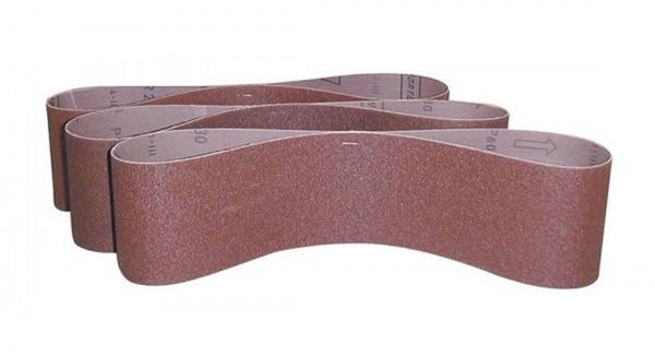 Güde Bandes abrasives 915x100 mm Grain 100, Lot de 3