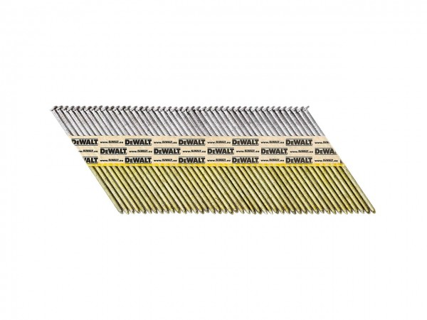 DeWALT Chiodi in stecca DNPT, ring, zincato, 63 mm, 1200 pezzi - DNPT28R63HDZ