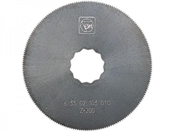 Fein HSS-Sägeblatt, Kreisform Ø80 2er Pack - 63502103010