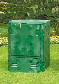 JUWEL Composteur pour toute l année Bio 600 - paroi épaisse et isolant