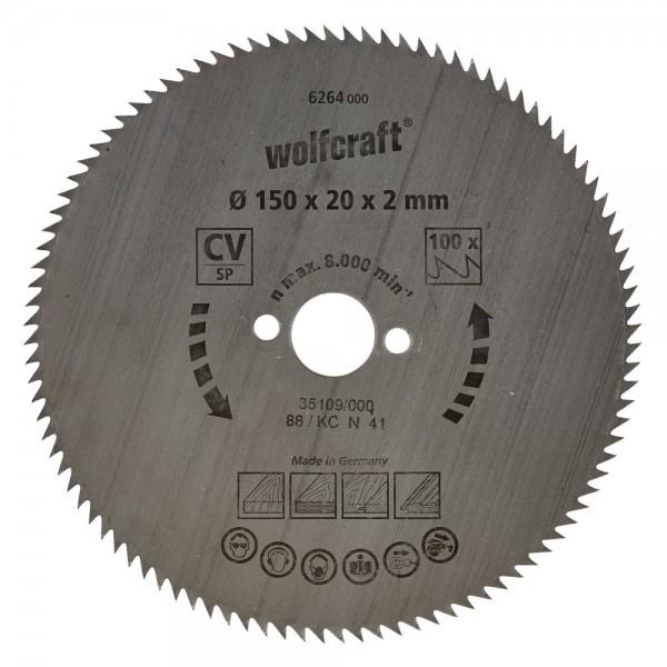 Wolfcraft Cirkelzaagblad 150mm - 6264000