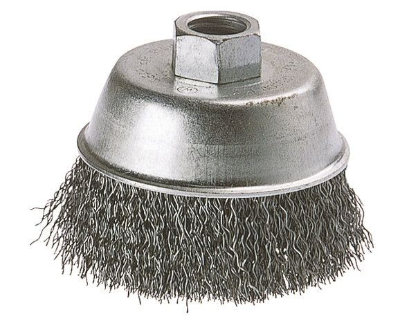 Wolfcraft 1 spazzola metallica a tazza, ø 70 mm - 2107000