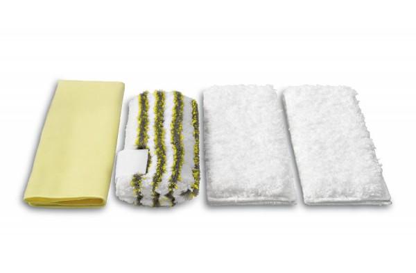 Kärcher Mikrofaser Tuchset - Bad zur Entfernung von hartnäckigen Kalk- und Seifenrückständen