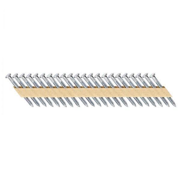 DeWALT Chiodi in stecca, ring, galvanizzati, 50 mm, 2000 pezzi - DNM40R50GZ