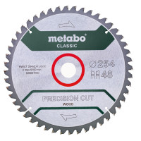 Metabo Lame de scie 'Precision cut wood - Classic', 254x30, Z48 WZ 5° nég. - 62806100