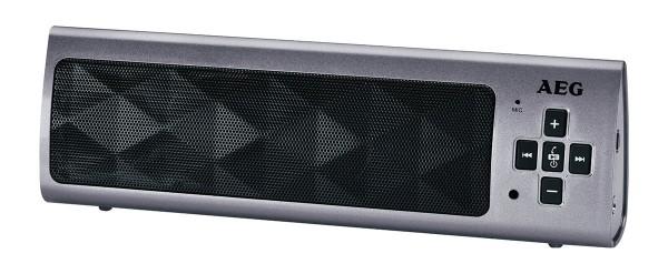 AEG Bluetooth Lautsprecher BSS 4818, titan