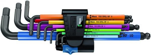 Wera 950 SPKL/9 SZ Multicolour Winkelschlüsselsatz, BlackLaser - 05022210001