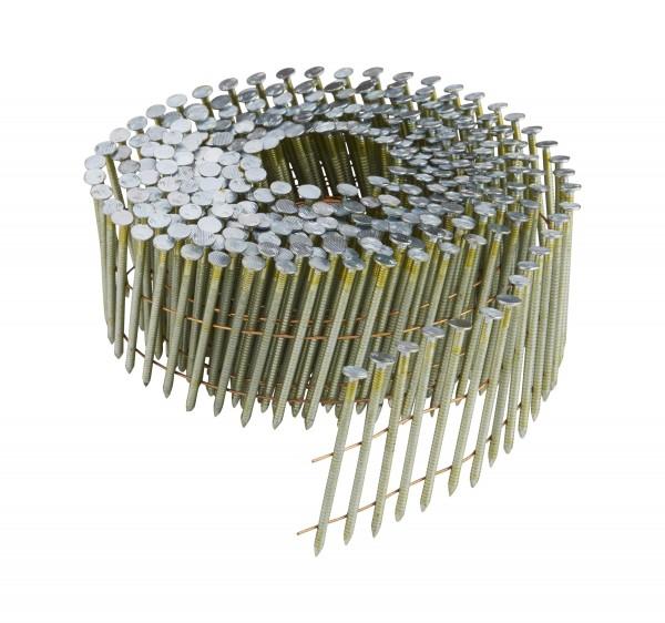 DeWALT Chiodi in bobina DNN 55 mm, 24500 pezzi, ring, galvanizzati - DNN20R55G12E