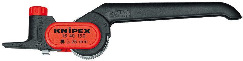 KNIPEX 16 40 150 SB Outil /à d/égainer PVC renforc/é de fibres de verre 150 mm