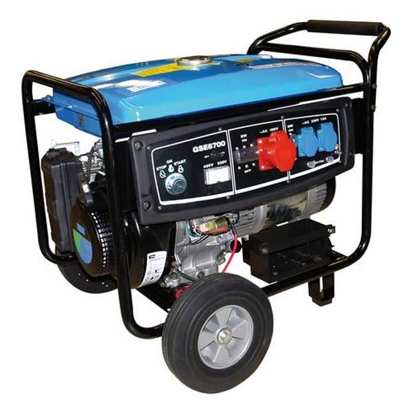 Güde Stromerzeuger GSE 6700 (Benzin)