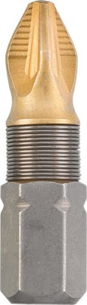 KWB TITAAN bits, 25 mm, PZ 1 - 124101