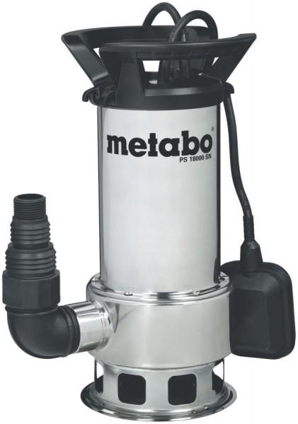 Metabo Pompe immergée pour eau polluée PS 18000 SN