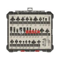 Bosch Fräser-Set, 6-mm-Schaft, 30-teilig - 2607017474
