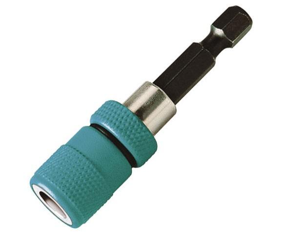 Wolfcraft 1 portapunta, con imán y tope de profundidad con imán anular, 60 mm - 2411000