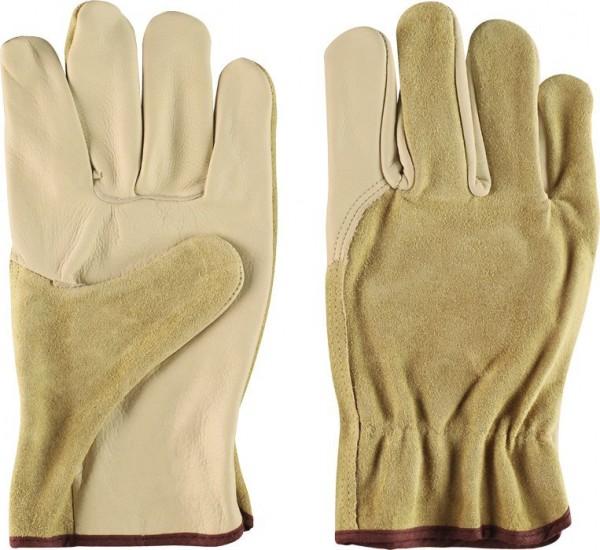 KWB Nappaleren handschoen, Rund nerfleer, soepel, binnen gevoerd - 937140