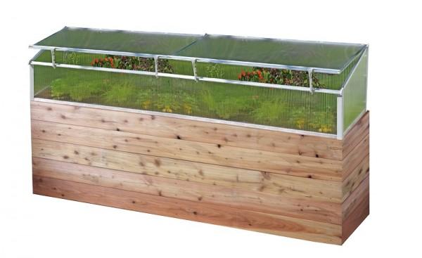 Juwel Thermo Fruhbeet 150 Mit 2 Fenstern Fur Holz Hochbeet