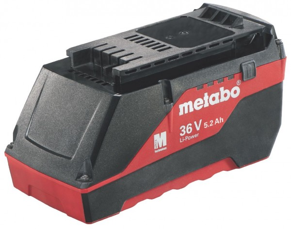 "Metabo Akkupack 36 V, 5,2 Ah, Li-Power Extreme, ""AIR COOLED"""