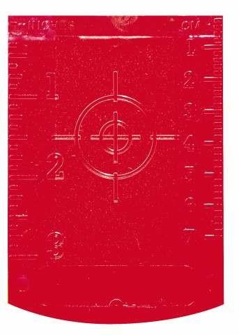 Stanley Zieltafel für Laser GT1