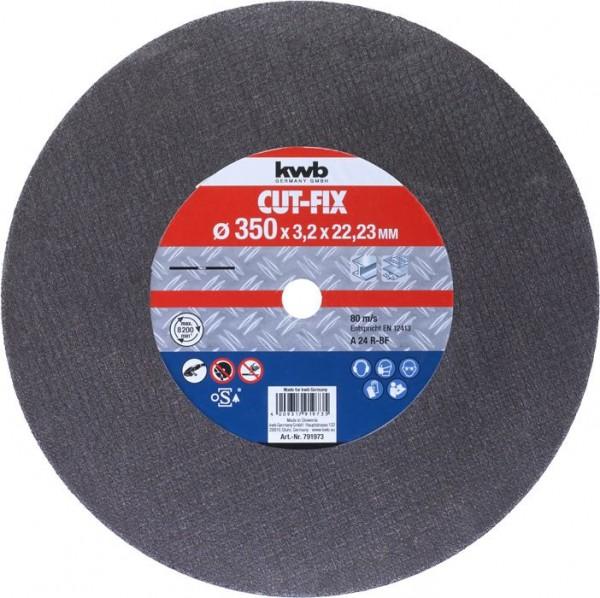 KWB CUT-FIX® doorslijpschijven, metaalbewerking, ø 355 mm - 791973