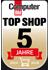 Wir wurden von Computer Bild als Top Shop ausgezeichnet.
