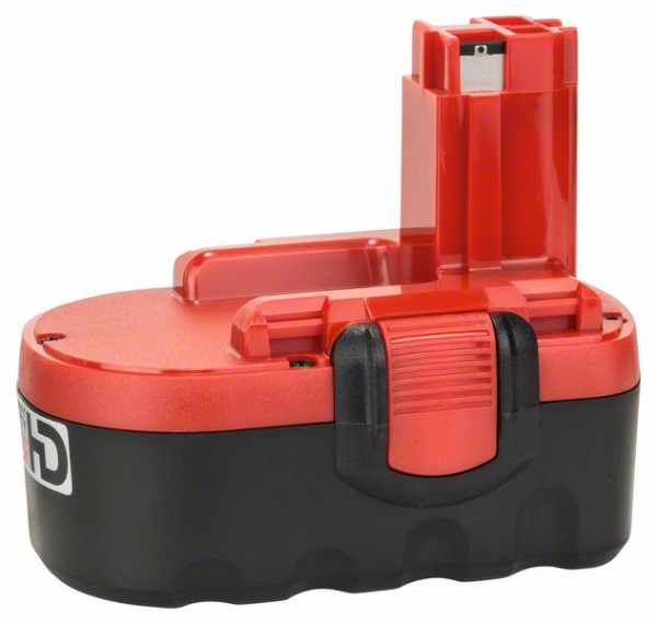 Bosch Akku Pack HD, 18 V-O, Akkukapazität 2,6 Ah, Zellentechnologie: NiMH