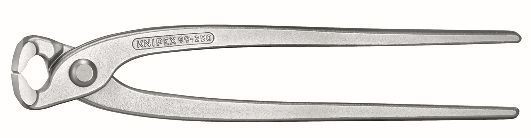 Knipex Tenaglia (pinza per ferraioli e cementisti) zincata lucida 220 mm - 99 04 220 EAN
