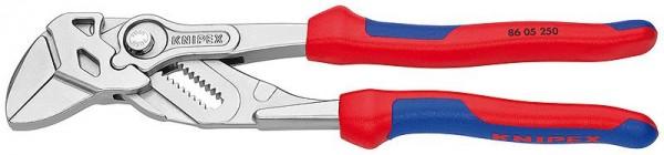 Knipex Sleuteltangen tang en schroefsleutel in één gereedschap, 250 mm - 8605250