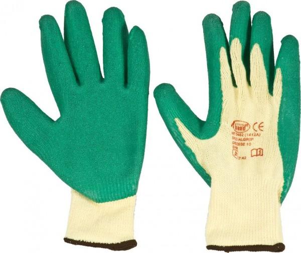 KWB Gebreide werkhandschoen, speciale latex coating op de handpalm - 933510