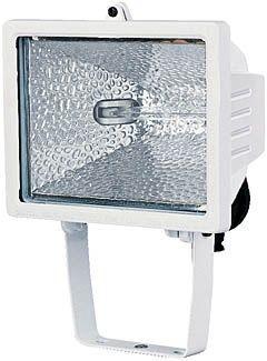 Brennenstuhl Strahler Halogenstrahler H 500 IP44 400W 8545lm weiß