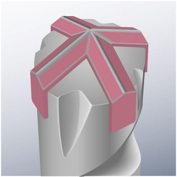 KWB CROSS-TIP hamerboren, punt 4-snijder, ø 10.0 mm - 260510