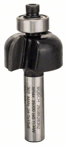 Bosch Hohlkehlfräser, 8 mm, R1 6 mm, D 24,7 mm, L 13 mm, G 53 mm
