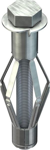 TOX Tassello in metallo per intercapedini Acrobat M8x55mm, 25 pezzi - 35101171