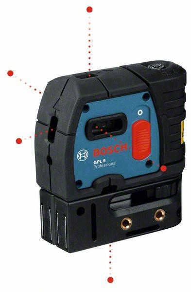 Bosch Professional Láser de puntos GPL 5 - 0601066200