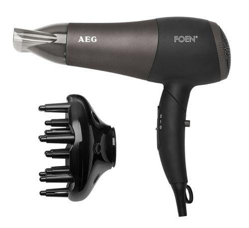 AEG Asciugacapelli professionale HTD 5649 - 2200W, nero/antracite