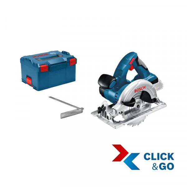 Bosch Professional Akku-Kreissäge GKS 18 V-LI Professional in L-BOXX (ohne Akku und Lader) - 060166H006