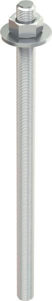 TOX Asta filettata Stix-VZ M12x160mm, zincata, 10 pezzi - 70101191