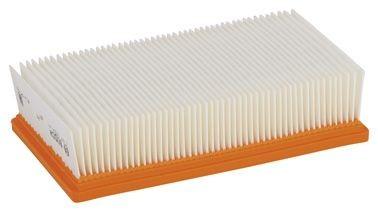 Bosch Filtre plissé plat en polyester (PES) pour GAS 35-55