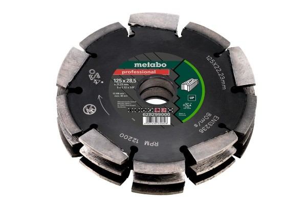 """Metabo Dia-FS3, 125x28,5x22,23 mm, """"professional"""", """"UP"""", Universeel - 628299000"""