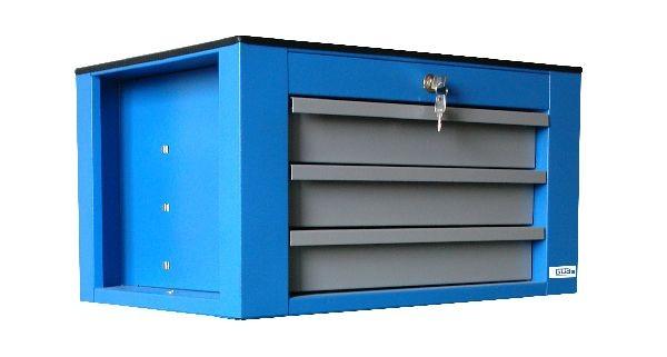 Güde Cassettone per attrezzi con 3 cassetti separati - 405 x 605 x 345 mm