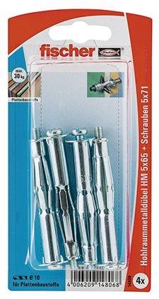 Fischer Hohlraum-Metalld. HM 5 x 65 SK SB-Karte - 1 Stück