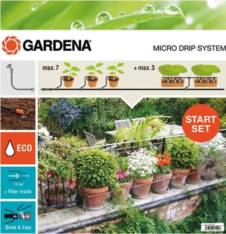 Gardena Startset bloempotten M - 649401