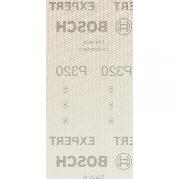 Bosch Professional EXPERT M480 Schleifnetz für Schwingschleifer, 93 x 186mm, G 320, 50-tlg., für Exzenterschleifer - 2608900759