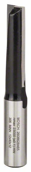 Bosch Nutfräser, 12 mm, D1 12 mm, L 40 mm, G 81 mm