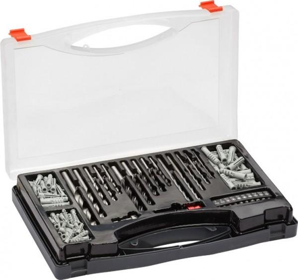 KWB Set boren, bits en pluggen, 132-delig - 423000