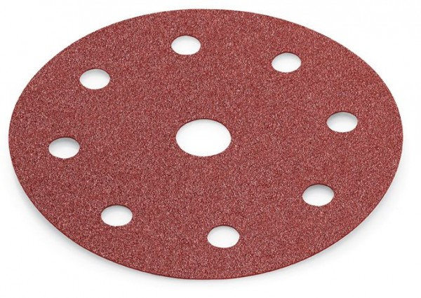 Flex Velcro-schuurpapier PURFLEX D125-8 PU-P100 VE50 - 380679