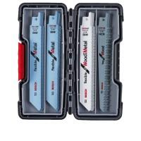 Bosch Professional Set di lame per seghetto alternativo Legno e Metallo, 20 pz. - 2607010902