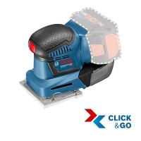 Bosch Professional Accuvlakschuurmachine GSS 18 V-10, zonder accu en lader, L-BOXX - 06019D0202