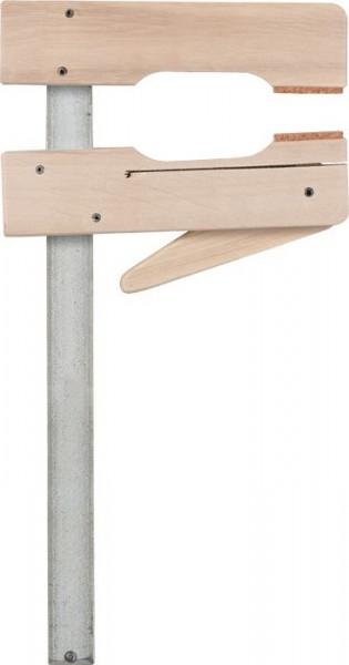 KWB PROFESSIONELE snelklemtangen, van hout, spandiepte 110 mm - 928420